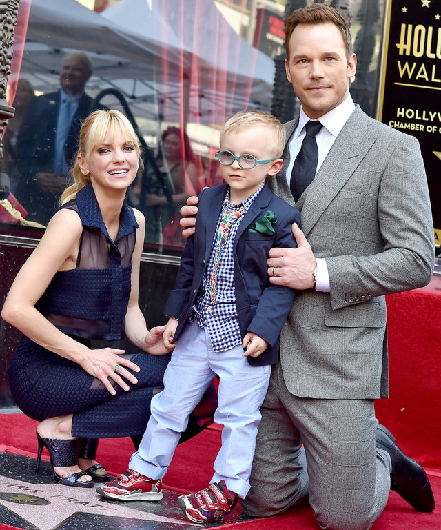 Anna Faris Chris Pratt Co-parenting