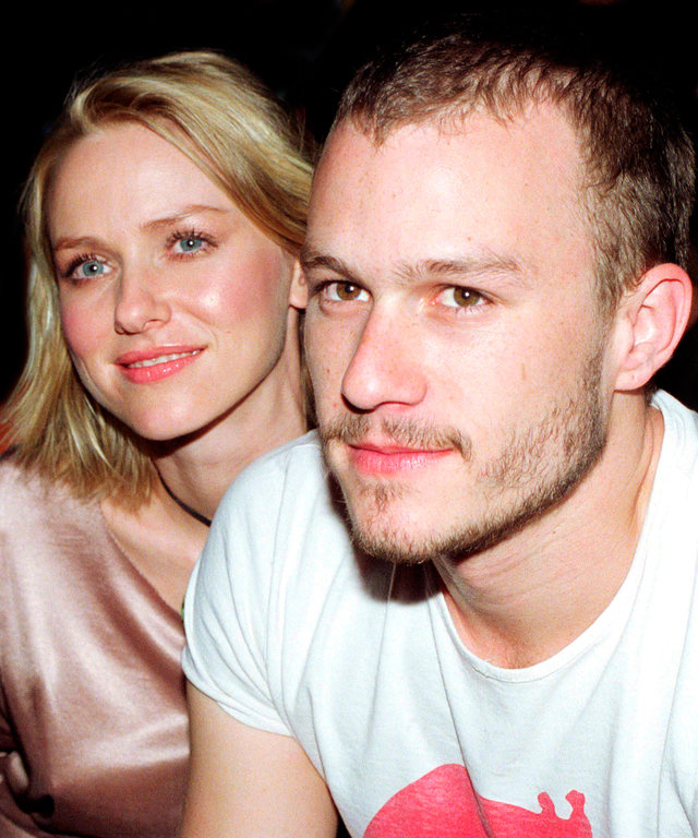 Heath Ledger Naomi Watts