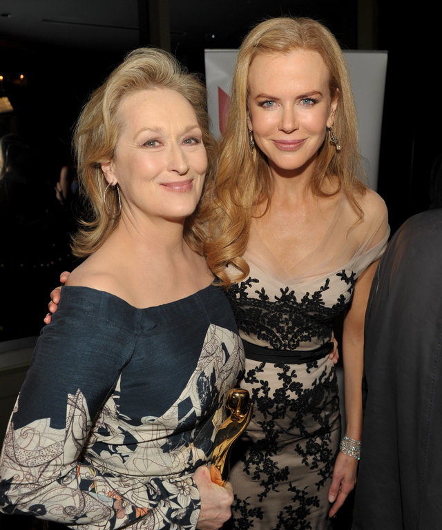 Nicole Kidman Meryl Streep Big Little Lies