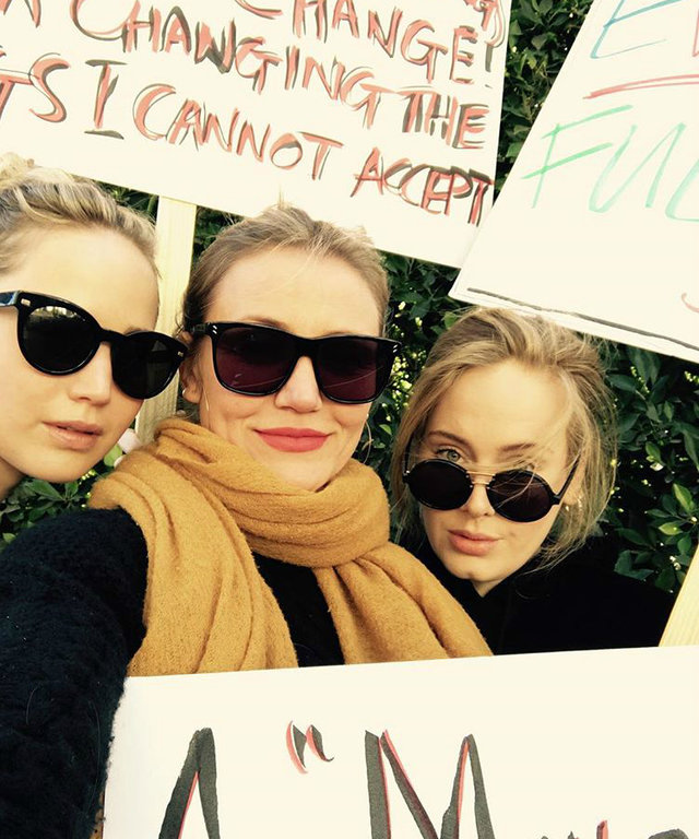 Adele womens march