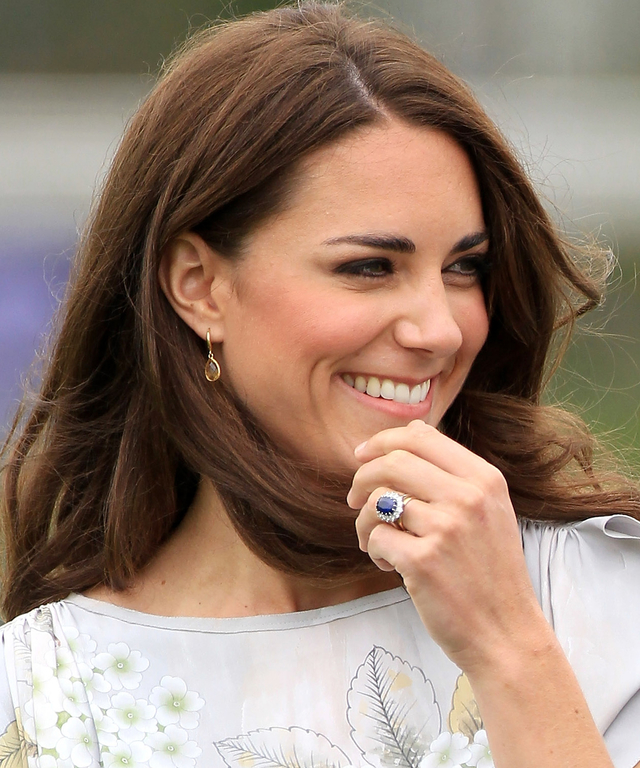 Unconventional Engagement Rings - Kate Middleton