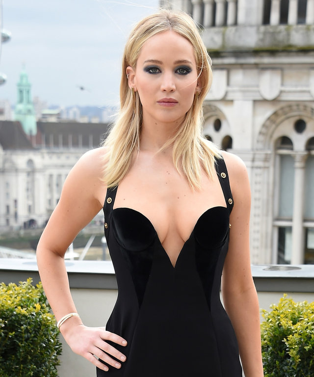 Jennifer Lawrence versace dress
