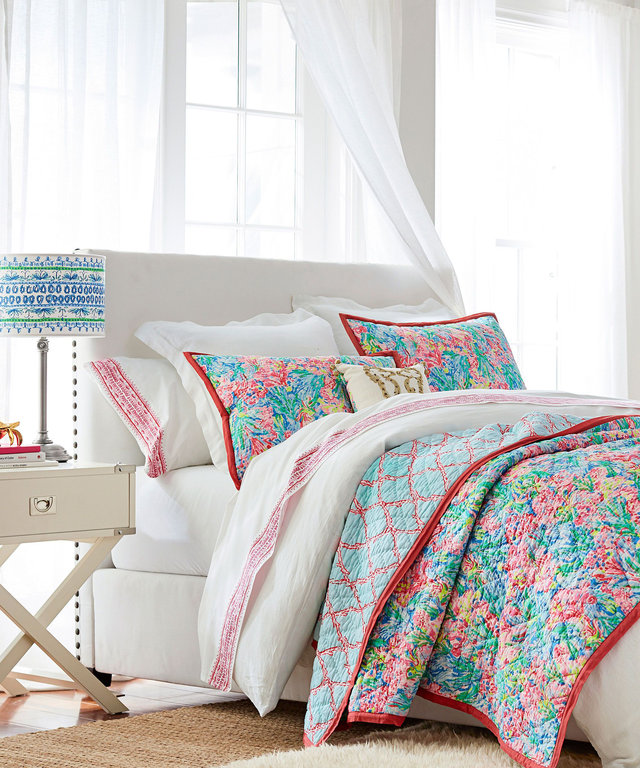 Pottery Barn x Lilly Pulitzer
