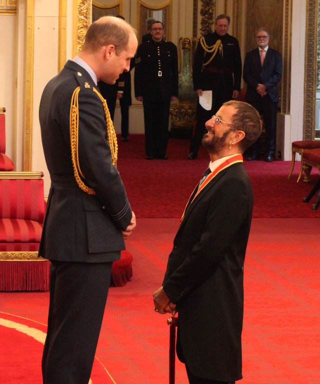 Ringo Starr Get Knighted