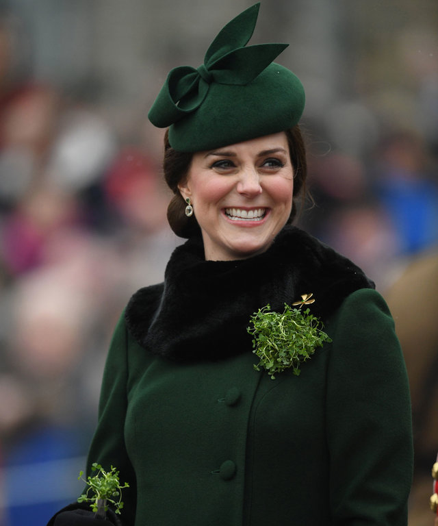 Kate Middleton St. Patrick's Day 2018