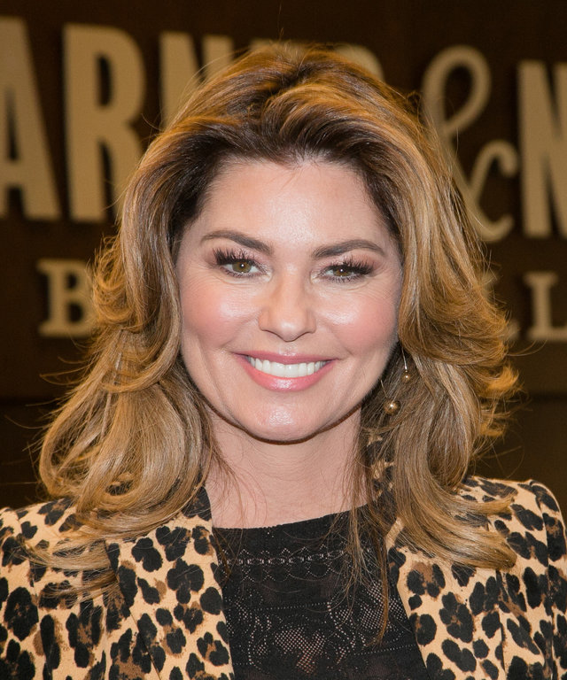 Shania Twain Album Signing For 'Now'