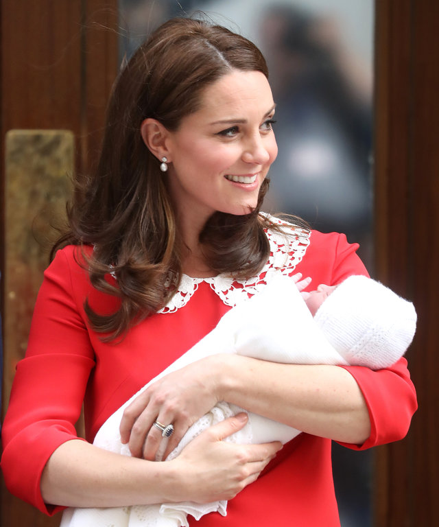 Kate Middleton hospital length lead