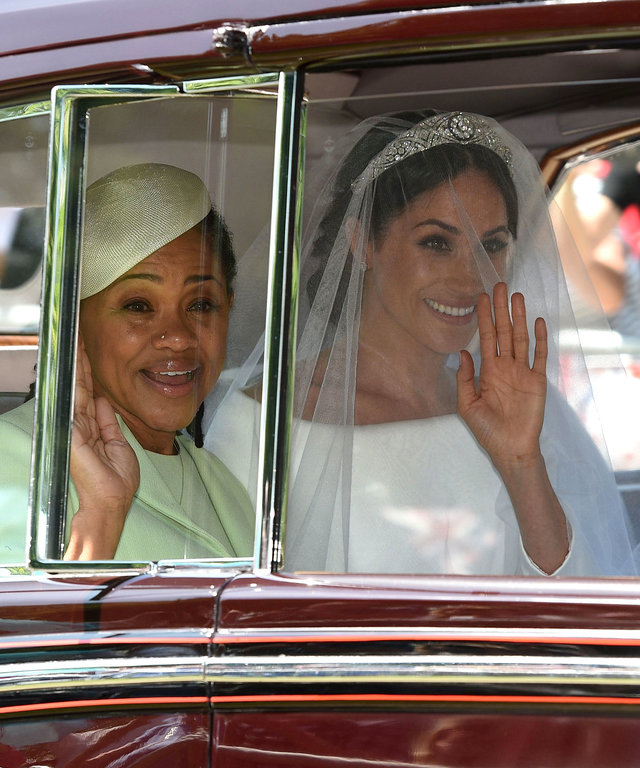 Doria Ragland Royal Wedding