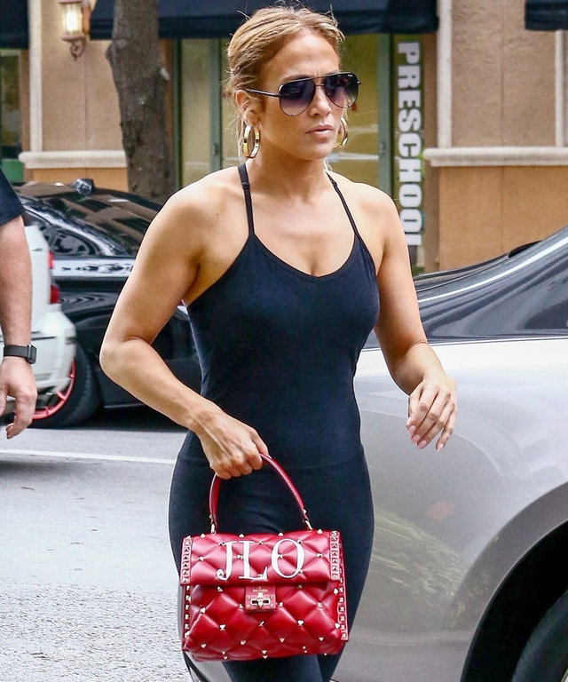 Jennifer Lopez Valentino Bag