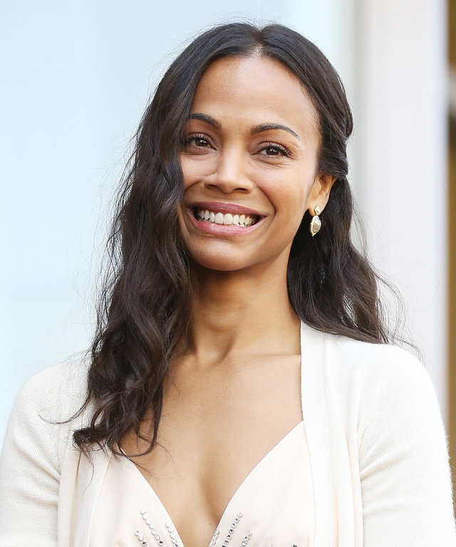 Zoe Saldana Honored With A Star On The Hollywood Walk Of Fame
