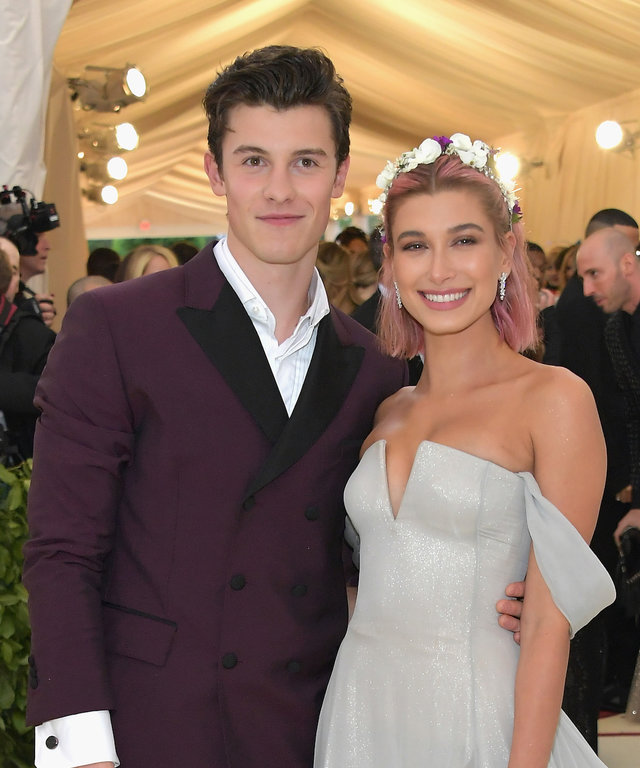 Hailey Baldwin and Shawn Mendes lead