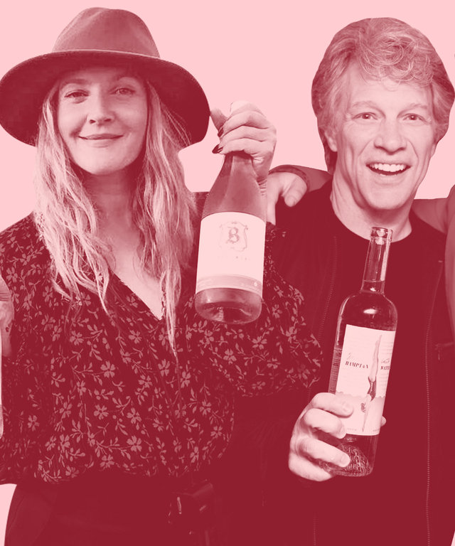 Celebrities Rose Wine