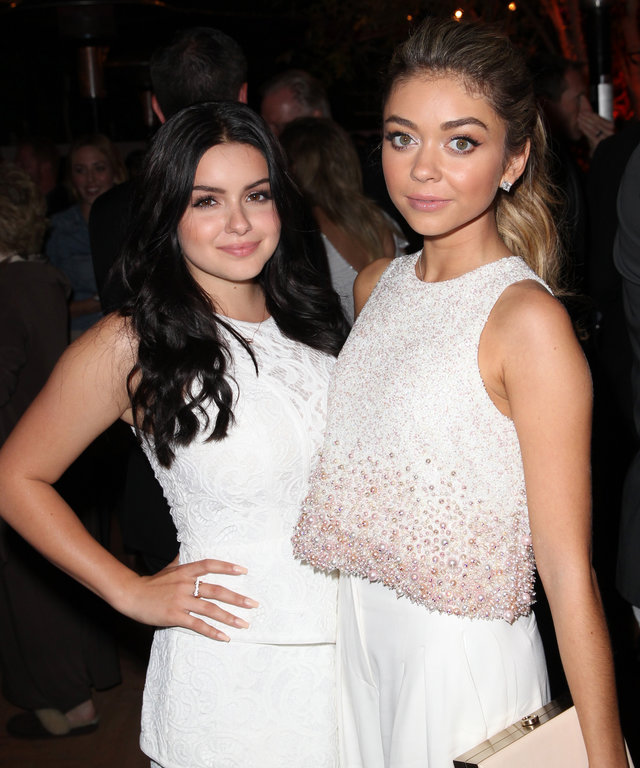 Sarah Hyland and Ariel Winter lead