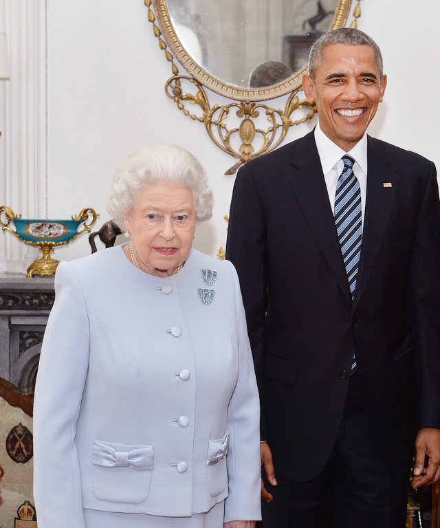 President Obama Queen Elizabeth - Lead