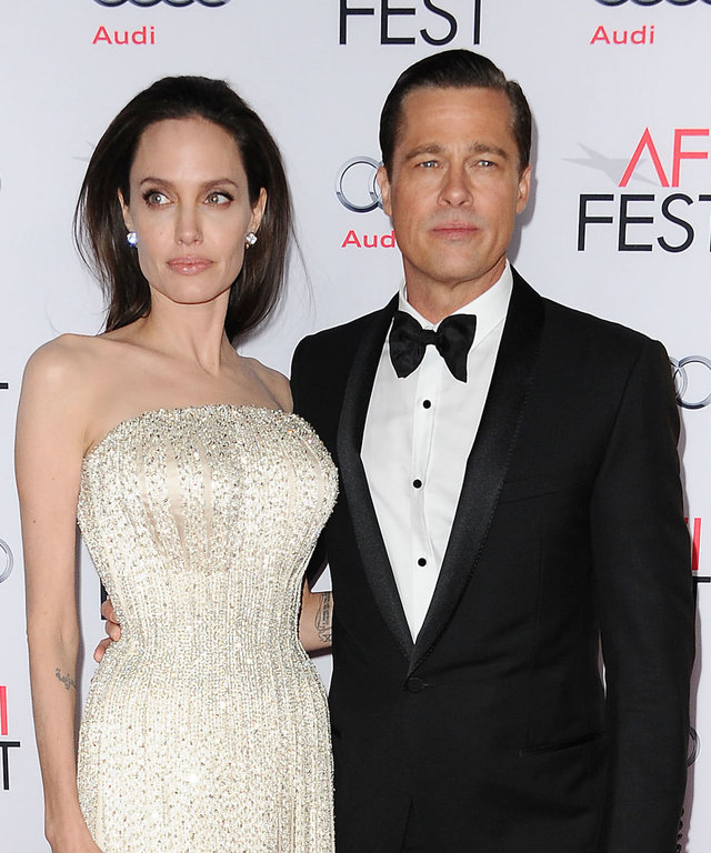 Angelina Jolie and Brad Pitt lead