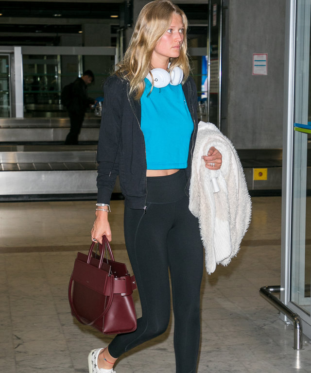 Celebrity Sightings At Nice Airport - The 71st Annual Cannes Film Festival