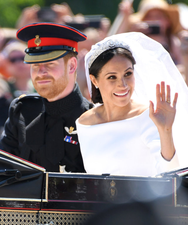 Prince Harry and Meghan Markle lead