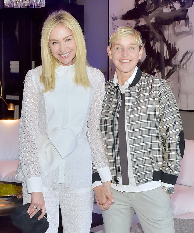 Portia de Rossi and Ellen DeGeneres lead