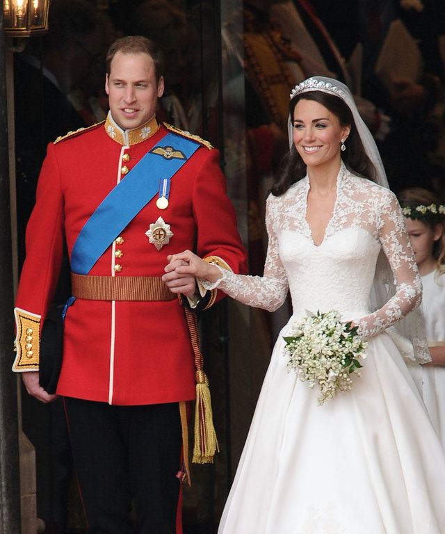 Will and Kate wedding lead
