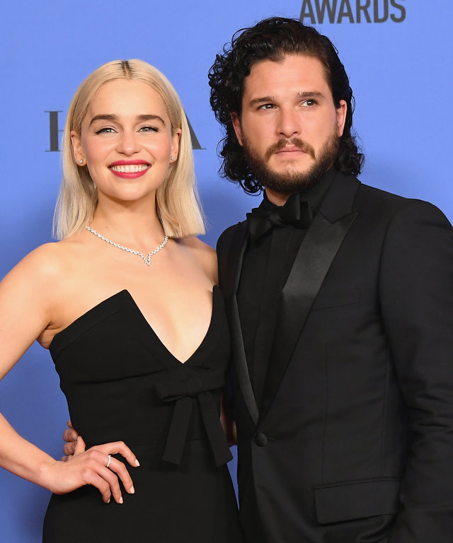 Kit Harington and Emilia Clarke lead