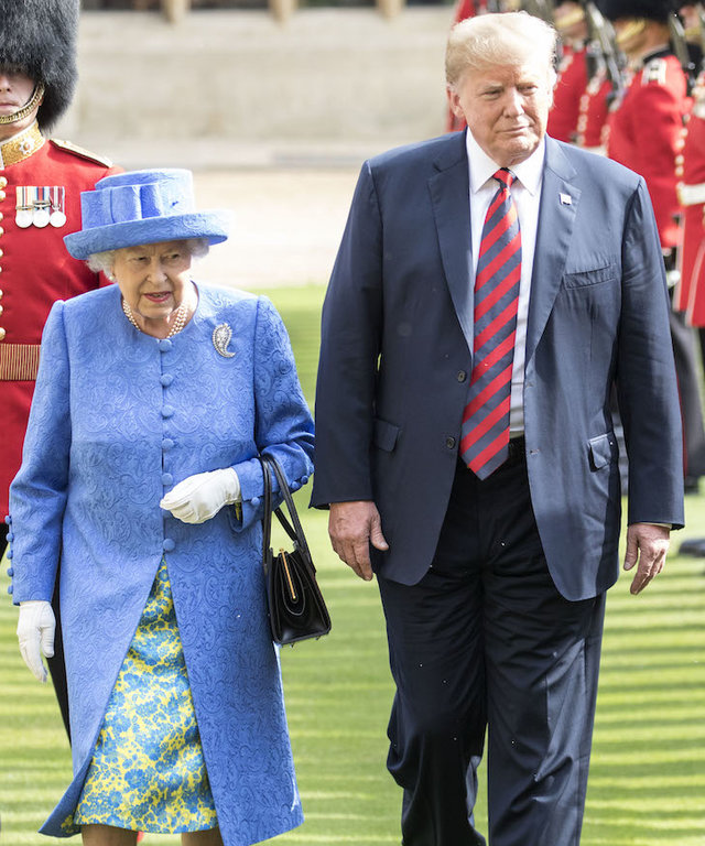 Queen and Trump lead