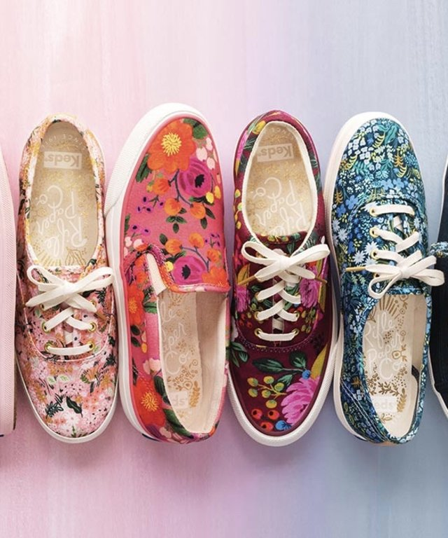 Keds x Paper Rifle