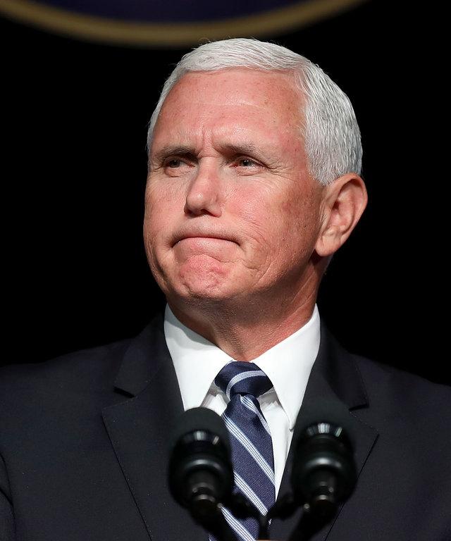 VP Pence Delivers Remarks On Military In Space During Visit To The Pentagon