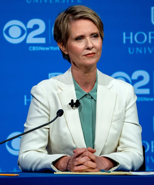 Cynthia Nixon Debate New York Governor