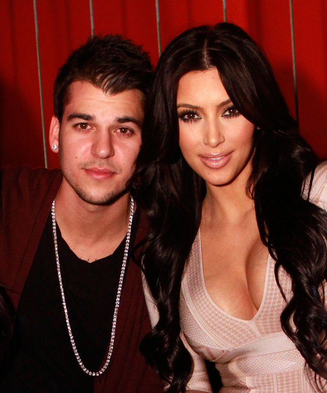 Rob Kardashian celebrates His 24th Birthday At Jet nightclub At The Mirage Hotel And Casino