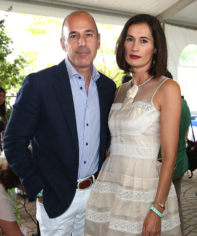 Matt Lauer and Annette Roque lead