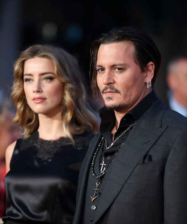 Amber Heard and Johnny Depp lead