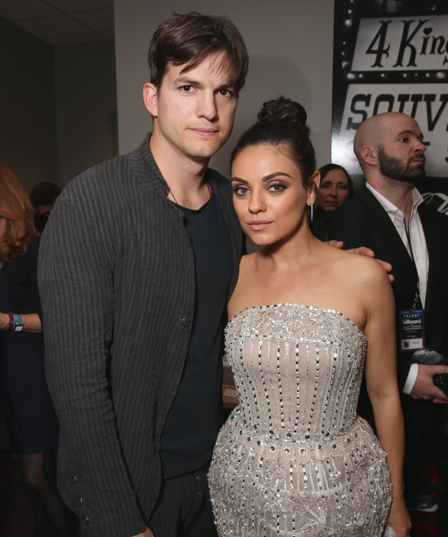 Mila Kunis and Ashton Kutcher lead