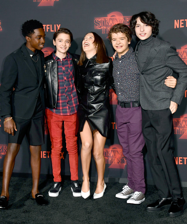 Premiere Of Netflix's 'Stranger Things' Season 2 - Arrivals