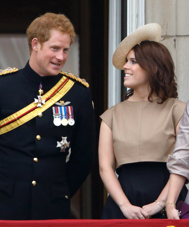 Harry and Eugenie lead