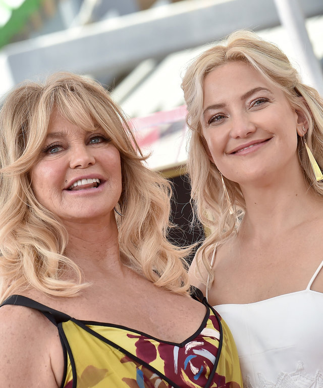 Kate Hudson and Goldie Hawn lead