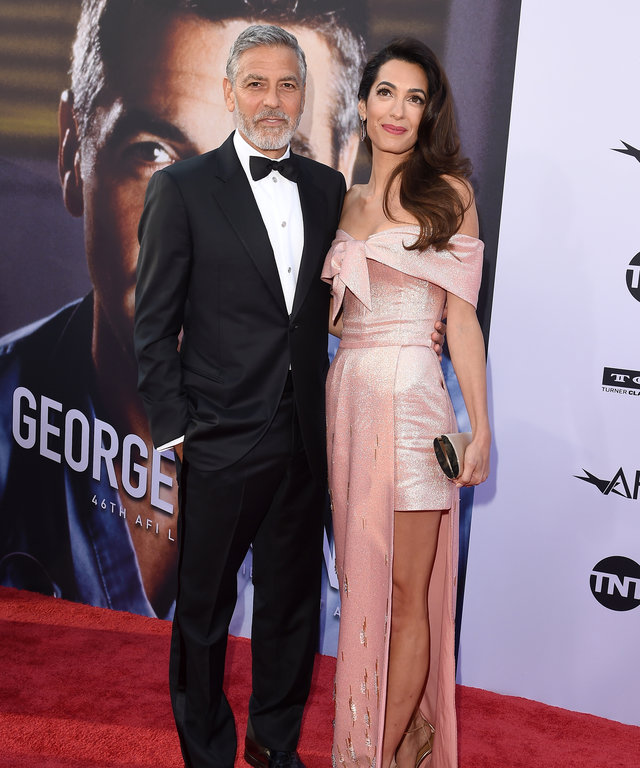 George and Amal Clooney American Film Institute