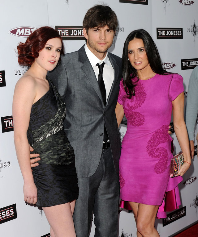 Ashton Kutcher/Rumer Willis lead