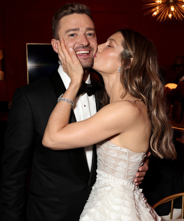 Justin Timberlake and Jessica Biel lead