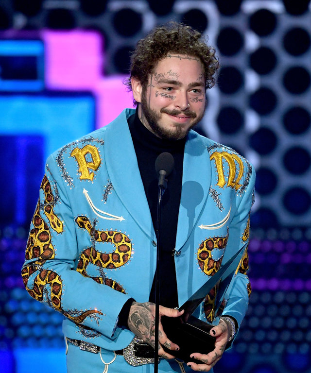 Post Malone 2018 American Music Awards