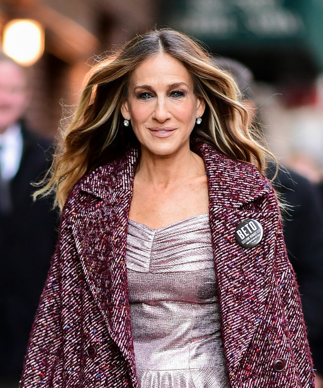 Sarah Jessica Parker New York City - October 30, 2018