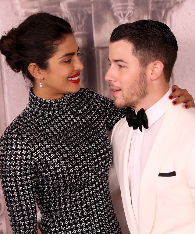 Nick Jonas Priyanka Chopra Ralph Lauren New York Fashion Week