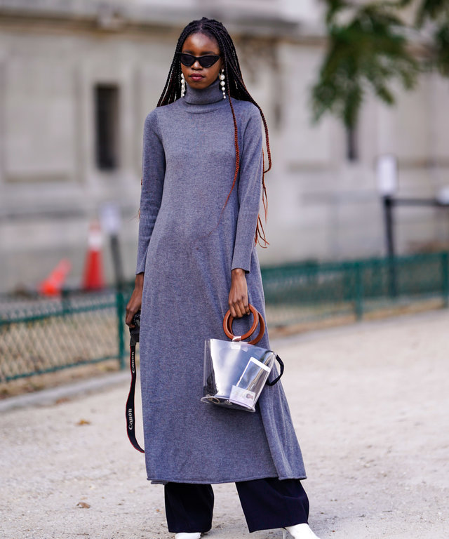 23b5921d37292 5 Tiny Tweaks That Will Make Your Sweater Dress Feel Very 2019