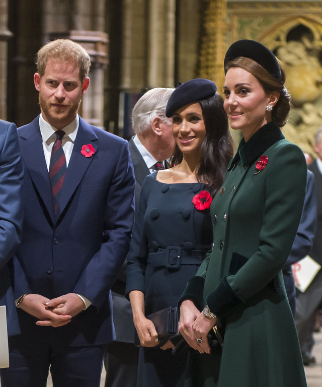 Will, Kate, Meghan, and Harry lead