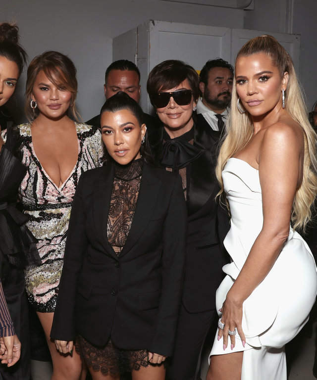 Kardashian Jenner 2018 E! People's Choice Awards
