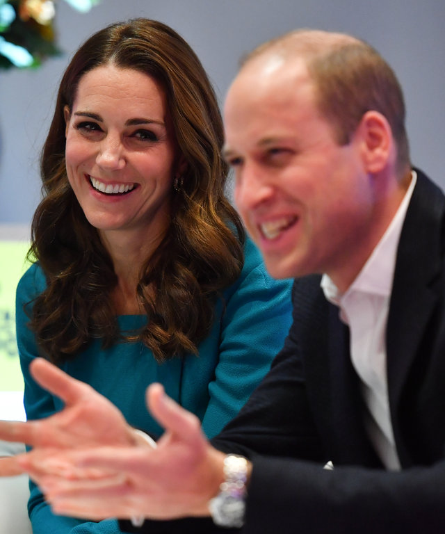 Kate Middleton Prince William The Duke and Duchess of Cambridge Visit The BBC