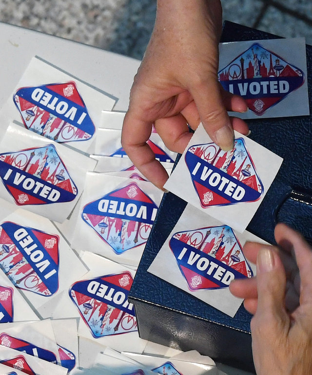 Voters Across The Country Head To The Polls For The Midterm Elections