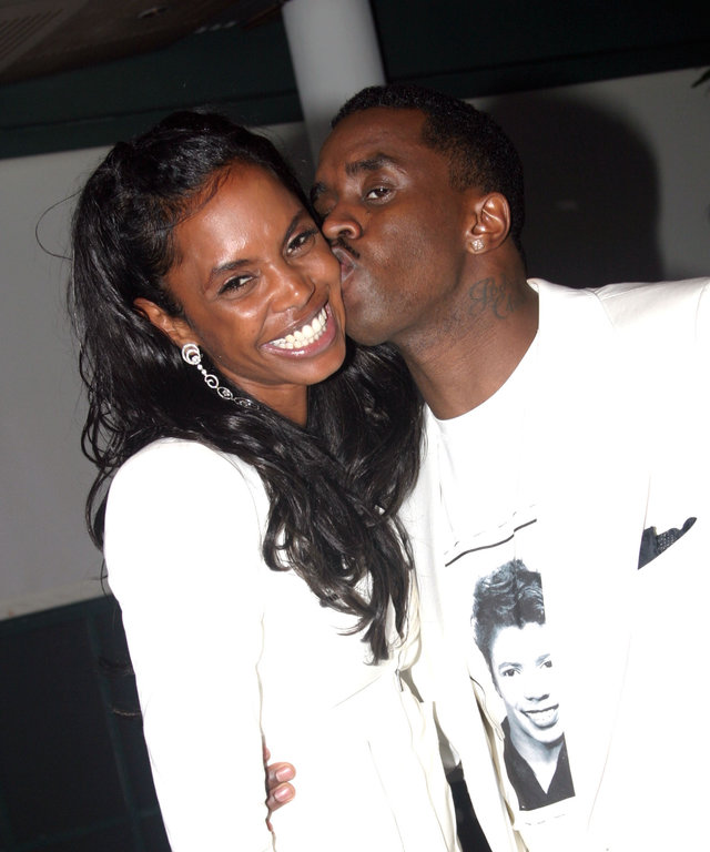 Sean Combs Kim Porter Opening Night of 'A Raisin In The Sun' on Broadway