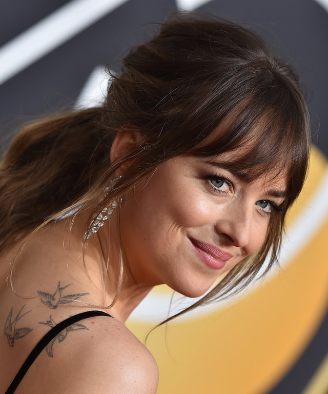 Dakota Johnson 75th Annual Golden Globe Awards