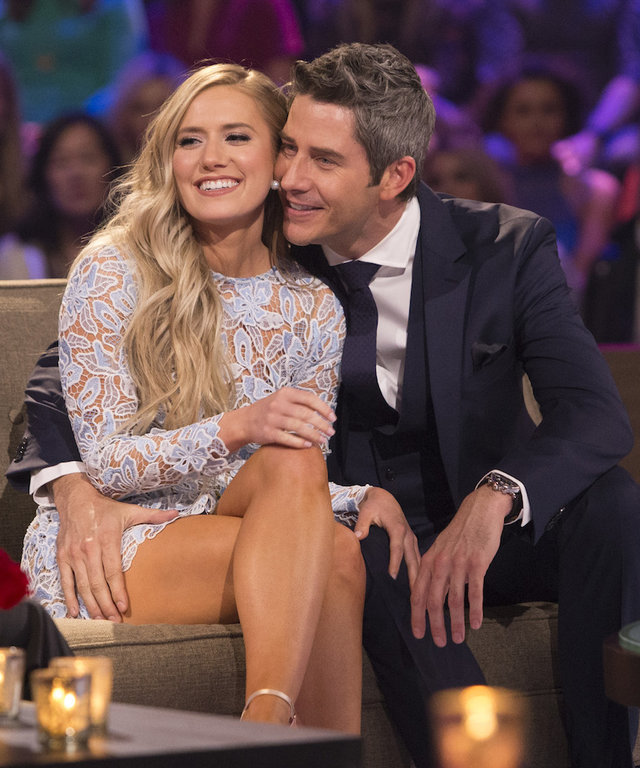 Arie and Lauren lead