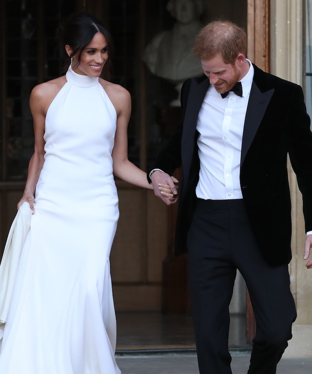 Meghan Markle reception lead